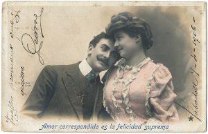 Tarjeta Postal, 1906
